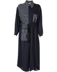 AVN 3/4 Length Dress - Blue