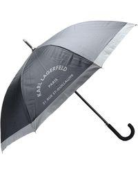 Karl Lagerfeld Regenschirm - Schwarz