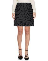 Carven Knee Length Skirt - Grey