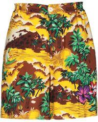 DSquared² Bermuda Shorts - Yellow