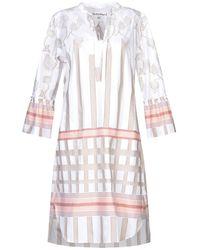 Le Sarte Pettegole Short Dress - White