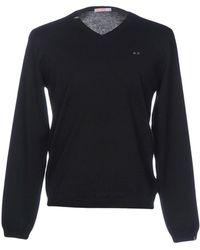 Sun 68 Sweater - Black