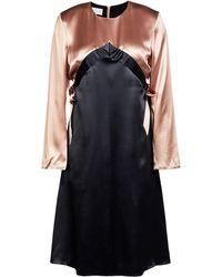 Kéji Knee-length Dress - Black