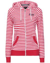 Superdry Sweat-shirt - Rouge