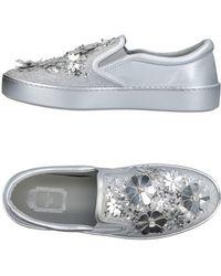 Dior Low Sneakers & Tennisschuhe - Mettallic