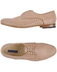 Alberto Guardiani Lace-up Shoes - Natural