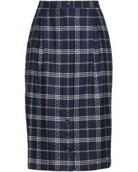 Giorgio Grati Midi Skirt - Blue