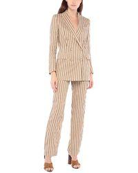 Tagliatore 0205 Women's Suit - Natural