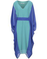 X's Milano Knee-length Dress - Blue