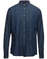 Domenico Tagliente Camicia jeans - Blu
