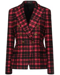 Tagliatore 0205 Suit Jacket - Red