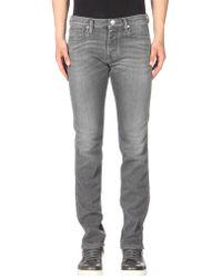 Emporio Armani Denim Pants - Gray