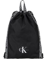 Calvin Klein Sacs à dos et bananes - Noir