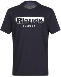 Blauer T-shirt - Blue