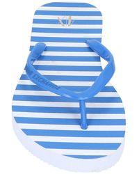 Armani Exchange Toe Post Sandal - Blue