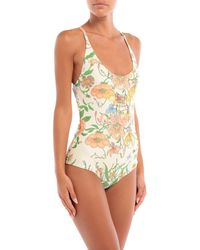 Gucci One-piece Swimsuit - Yellow