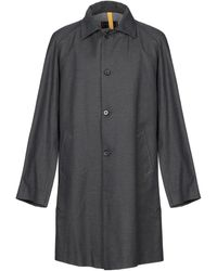 Homme by Michele Rossi Overcoat - Grey