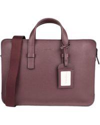Giorgio Armani Work Bags - Purple