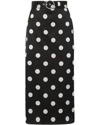 Art Dealer 3/4 Length Skirt - Black