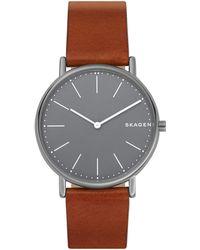 Skagen Armbanduhr - Braun