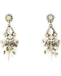 Rada' Earrings - White