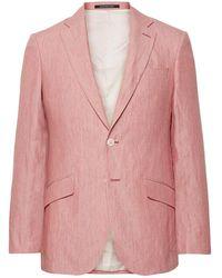 Richard James Suit Jacket - Pink
