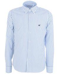 Henry Cotton's Camisa - Azul