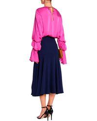 ROKSANDA Midi Skirt - Blue