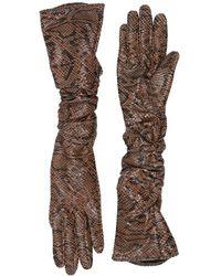 Gestuz Gloves - Brown