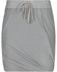Rick Owens DRKSHDW Minifalda - Gris