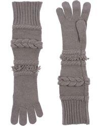 Agnona Gloves - Gray