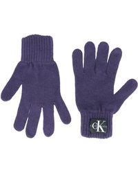 Calvin Klein Gloves - Purple