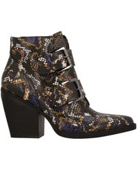 Madden Girl Ankle Boots - Blue