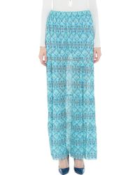 Fisico Long Skirt - Blue