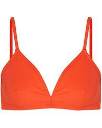 Orlebar Brown Reggiseno mare - Arancione