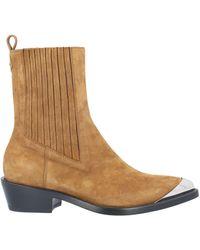 Ermanno Scervino Ankle Boots - Natural