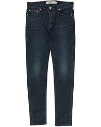 TOPMAN Denim Trousers - Blue