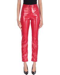 Alberta Ferretti Trousers - Red