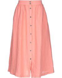 Pepe Jeans Midi Skirt - Pink