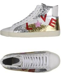 Saint Laurent High-tops & Trainers - White