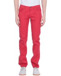 Jeckerson Casual Trouser - Red