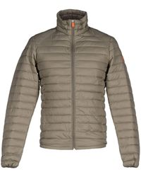 Save The Duck Synthetic Down Jacket - Gray