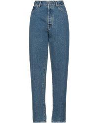 Golden Goose Denim Trousers - Blue