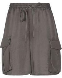 P.A.R.O.S.H. Shorts & Bermuda Shorts - Grey