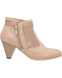 Nero Giardini Ankle Boots - Natural
