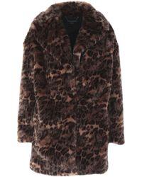 AllSaints - Faux Fur - Lyst