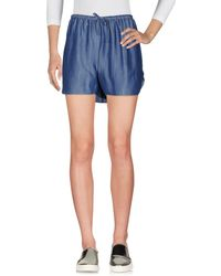 5preview - Denim Shorts - Lyst