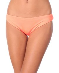 Seafolly Slip mare - Arancione