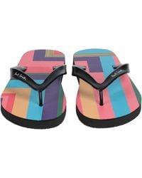 Paul Smith Toe Post Sandal - Pink
