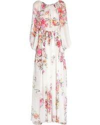 Zuhair Murad Langes Kleid - Weiß